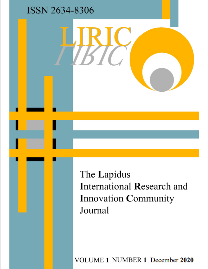 LIRIC ISSUE 1 COVER